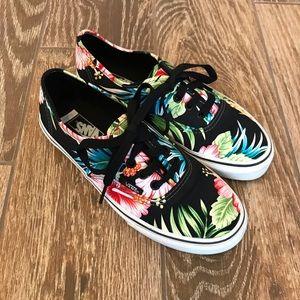 Vans Tropical Kids Shoes Size 4